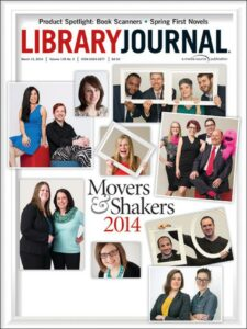 Library Journal Movers and Shakers from 2014